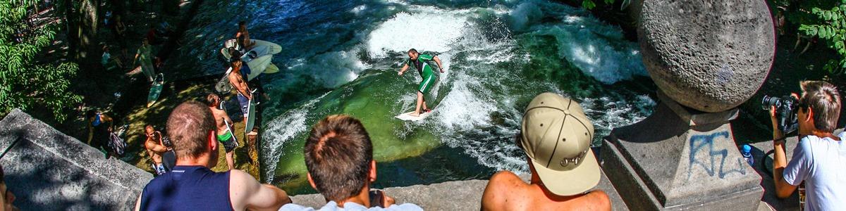 Eisbach surfen 5
