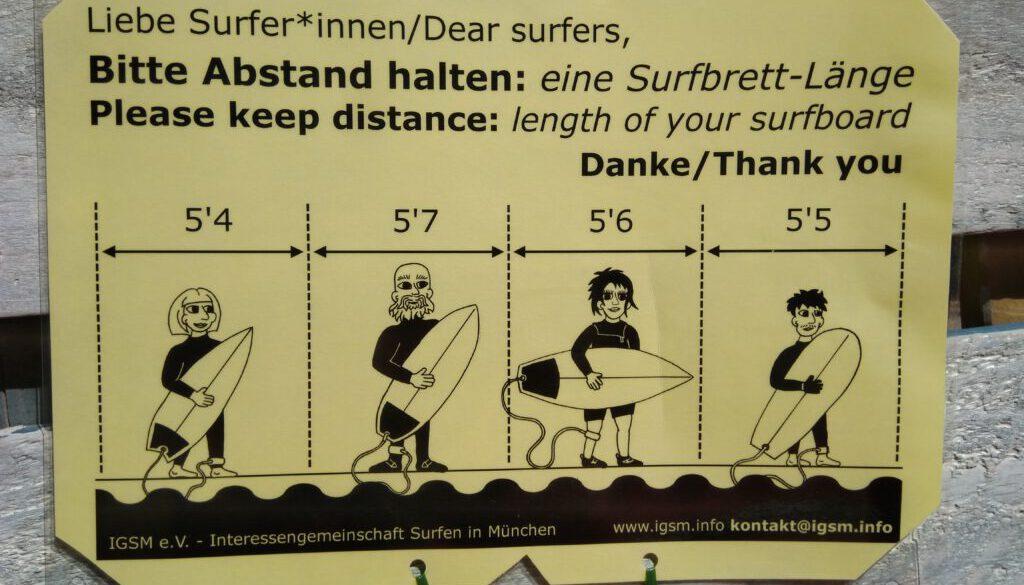 Abstandsregeln